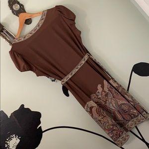 BCBGMaxAzria Dresses - BcbgmaxAzria paisley dress